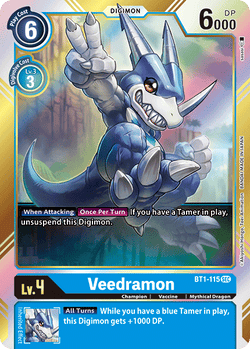 Veedramon BT1-115SEC