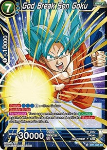 God Break Son Goku BT1-031 SR