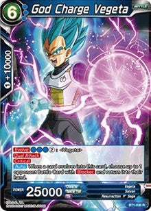 God Charge Vegeta BT1-036 R