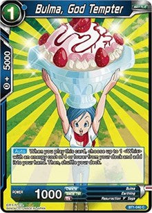 Bulma, God Tempter BT1-040 C
