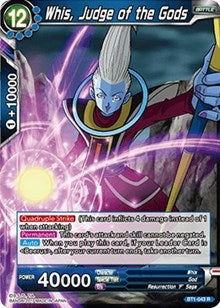 Whis, Judge of the Gods BT1-043 R
