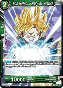 Son Goten, Family of Justice BT1-063 C