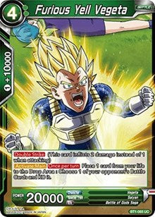 Furious Yell Vegeta BT1-065 UC