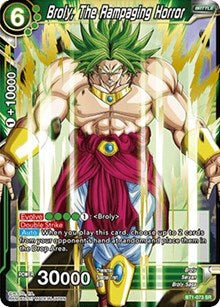 Broly, The Rampaging Horror BT1-073 SR