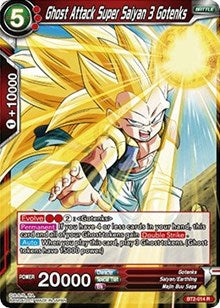 Ghost Attack Super Saiyan 3 Gotenks BT2-014 R