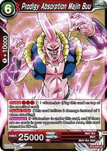 Prodigy Absorption Majin Buu BT2-026 UC