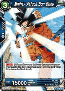 Mighty Attack Son Goku BT2-038 UC