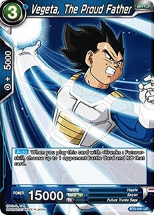 Vegeta, The Proud Father BT2-041 UC