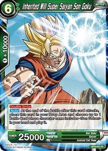 Inherited Will Super Saiyan Son Goku BT2-071 R