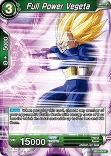Full Power Vegeta BT2-076 R