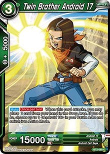 Twin Brother Android 17 BT2-089 C