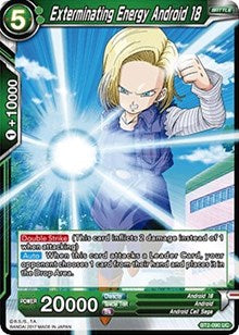 Exterminating Energy Android 18 BT2-090 UC