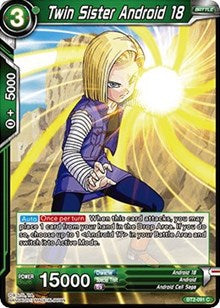 Twin Sister Android 18 BT2-091 C