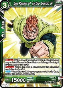 Iron Hammer of Justice Android 16 BT2-094 C