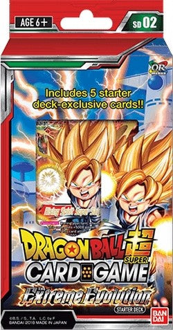 Dragonball Super The Extreme Evolution Starter Deck SD02