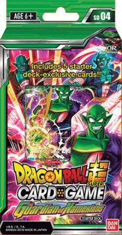 Dragonball Super Card Game The Guardian of Namekians Starter Deck SD04
