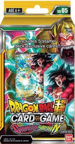 Dragonball Super Crimson Saiyan Starter Deck SD05
