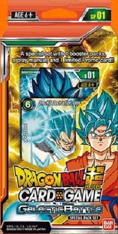 Dragonball Super Galactic Battle Special Pack SP 01