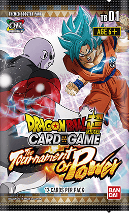 Dragonball Super Card Game Tournament of Power Themed Booster Box TB01
