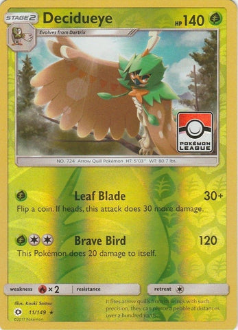 Decidueye League Promo (11/149)