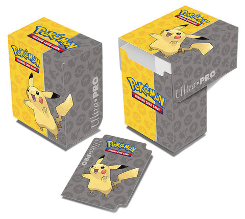 Ultra Pro Pokemon Deck Box Pikachu