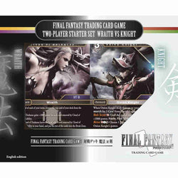 Final Fantasy Trading Card Game Two-Player Starter Set Wraith Vs Knight