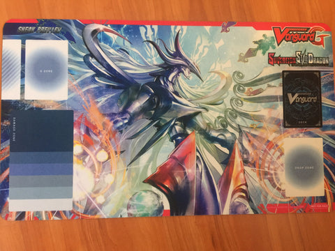 Cardfight Vanguard G Sovereign Star Dragon Sneak Preview Playmat