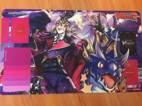 Cardfight Vanguard G Moonlit Dragonfang Sneak Preview Harri Playmat