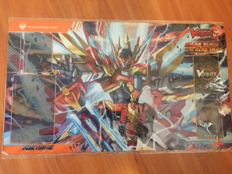 Cardfight Vanguard G Raging Clash of the Blade Fangs Sneak Preview Victor Playmat