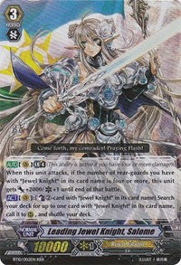 Leading Jewel Knight, Salome BT10/002EN RRR