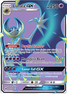Lunala GX Full Art (141/149)