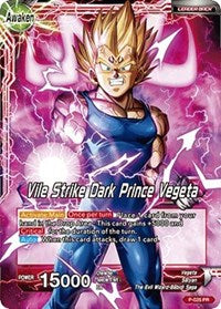 Vile Strike Dark Prince Vegeta P-025