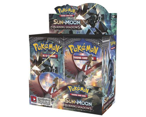 Pokemon Burning Shadows Booster Box