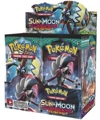 Pokemon Guardians Rising Booster Box