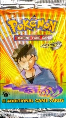 Pokemon Gym Heroes 1st Edition Booster Pack
