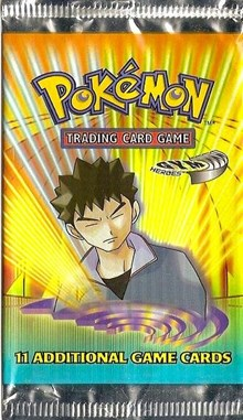 Pokemon Gym Heroes Booster Pack