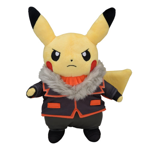 Pikachu Secret Teams Lysandre Plushie