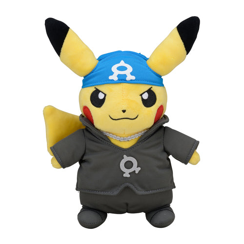 Pikachu Secret Teams Archie Plushie