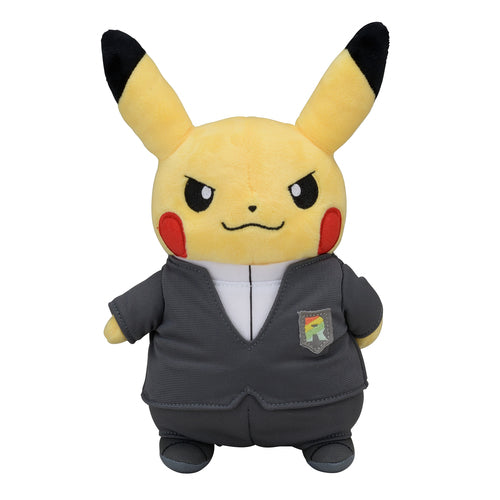 Pikachu Secret Teams Giovanni Plushie