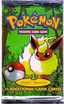 Pokemon Jungle Booster Pack
