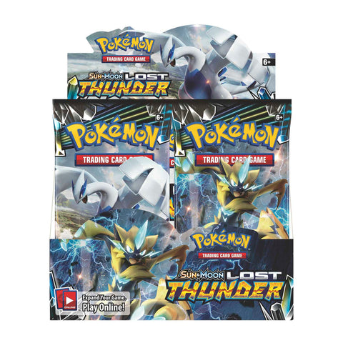 Pokemon Lost Thunder Booster Box