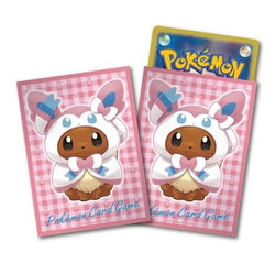 Pokemon Card Game Eevee Sylveon Poncho Deck Protector Sleeves