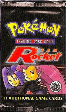 Pokemon Team Rocket 1st Edition Booster Pack