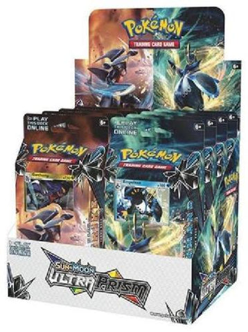 Pokemon Ultra Prism Theme Deck Display
