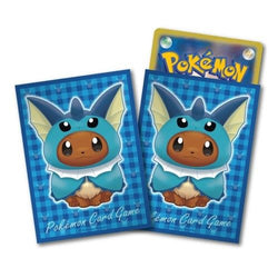 Pokemon Card Game Eevee Vaporeon Poncho Deck Protector Sleeves