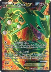 Rayquaza EX Full Art (123/124)