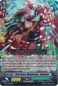 Red Rose Musketeer, Antonio BT14/020EN RR