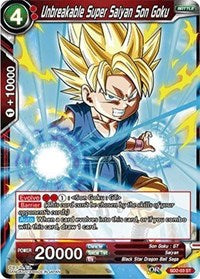 Unbreakable Super Saiyan Son Goku SD2-03 ST