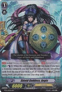 Shield Goddess, Aegis BT14/013EN RR