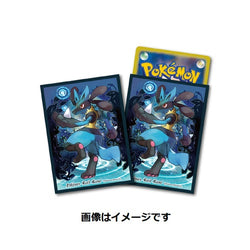 Pokemon Card Game Wave of Lucario Sleeves